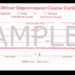California mature driver