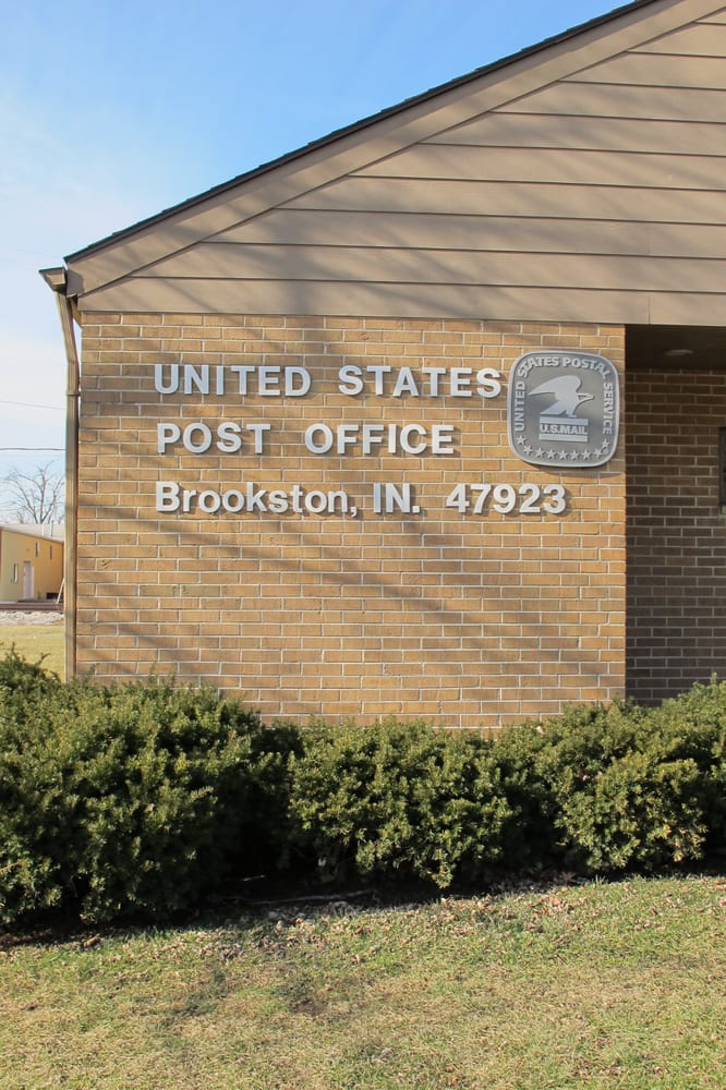 Brookston US Government Post Office: 205 S South St, Brookston, IN