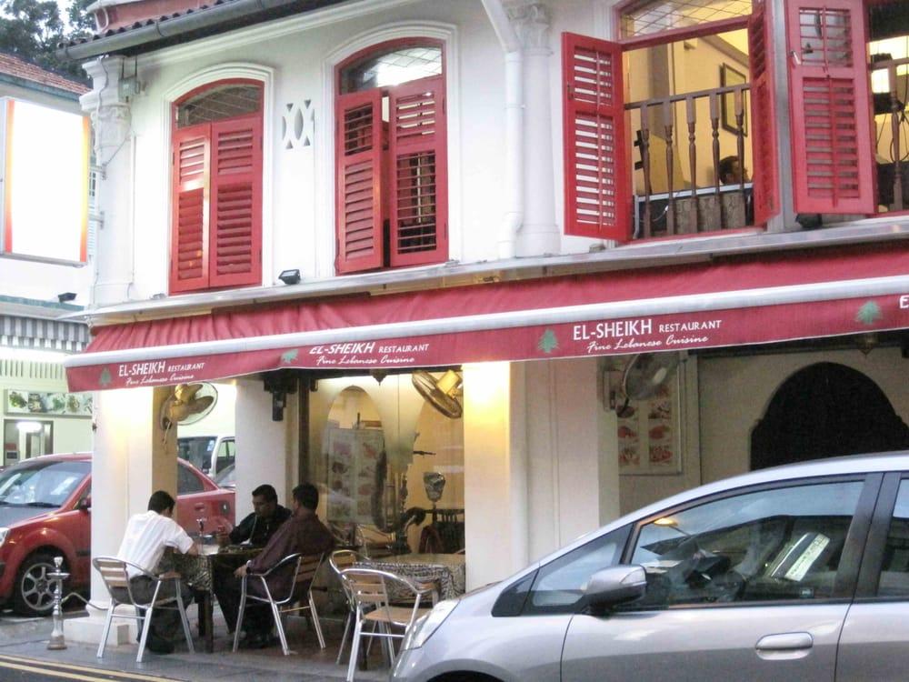 El sheikh modern european 18 pahang street arab for Arab cuisine singapore
