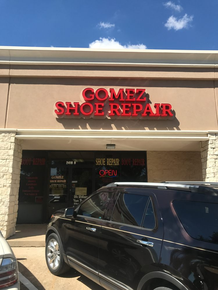 Gomez Shoe Repair: 2418 Texas Ave S, College Station, TX
