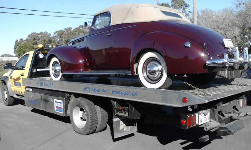 Towing business in Larkfield-Wikiup, CA