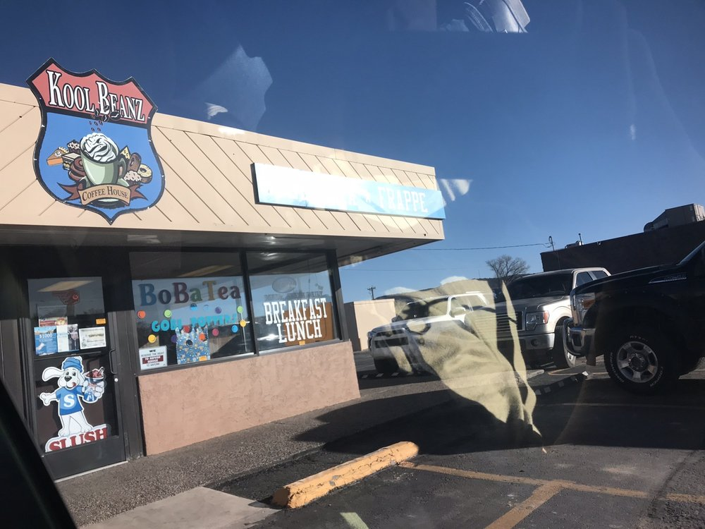 Kool Beanz coffee and more: 1203 East Hwy 66, Gallup, NM