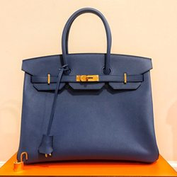 b664304c857c Photo of Hermès - San Francisco, CA, United States. Blue agate B35 Epsom