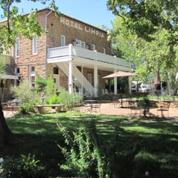 Photo Of Hotel Limpia Fort Davis Tx United States The Courtyard