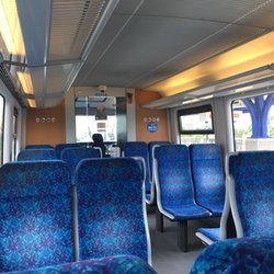 Photo Of Sprinter Light Rail Train Oceanside Ca United States Inside The