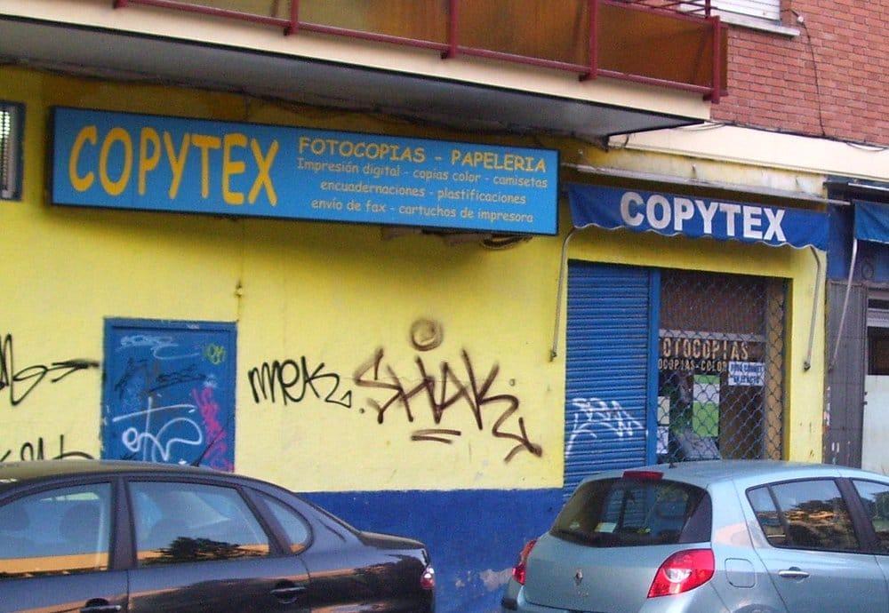 Copytex material de oficina calle de castelflorite 5 for Oficinas ups madrid