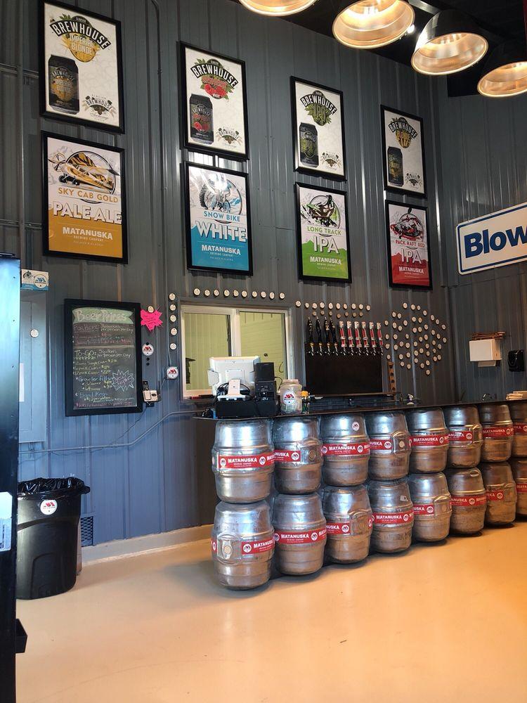 Matanuska Brewery Company: 513 S Valley Way, Palmer, AK