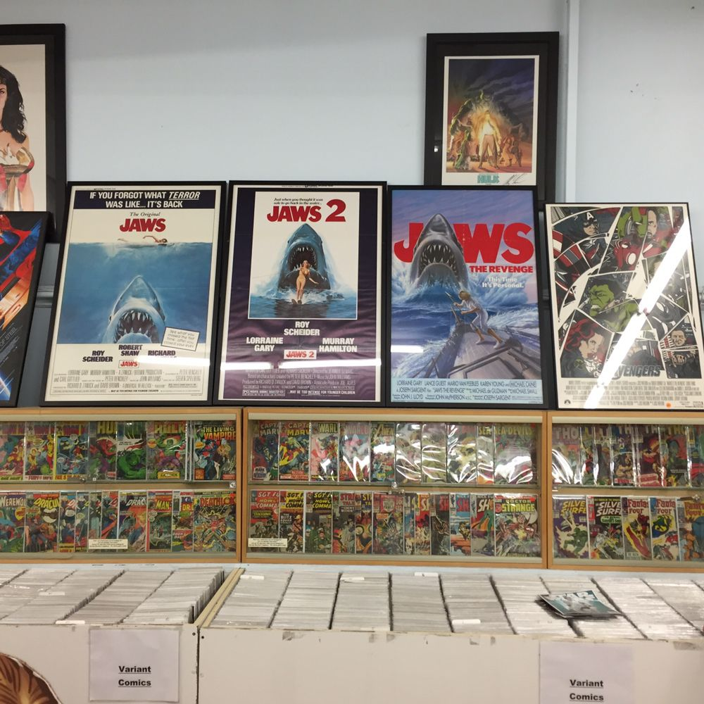Harrison's Comics and Pop Culture: 252 Essex St, Salem, MA