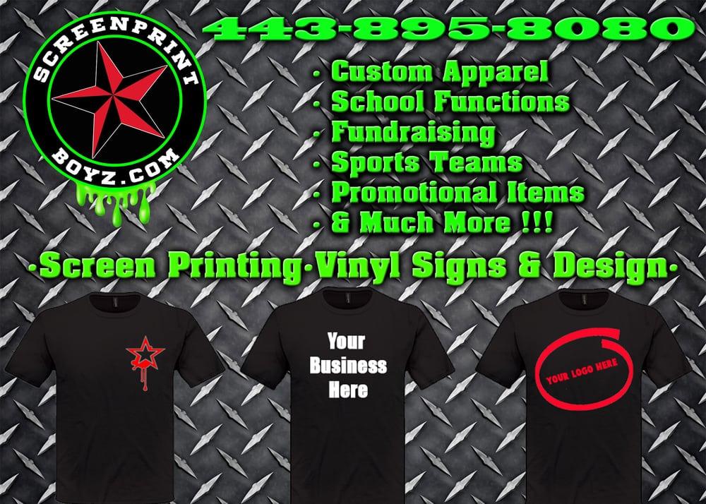 Screen Print Boyz