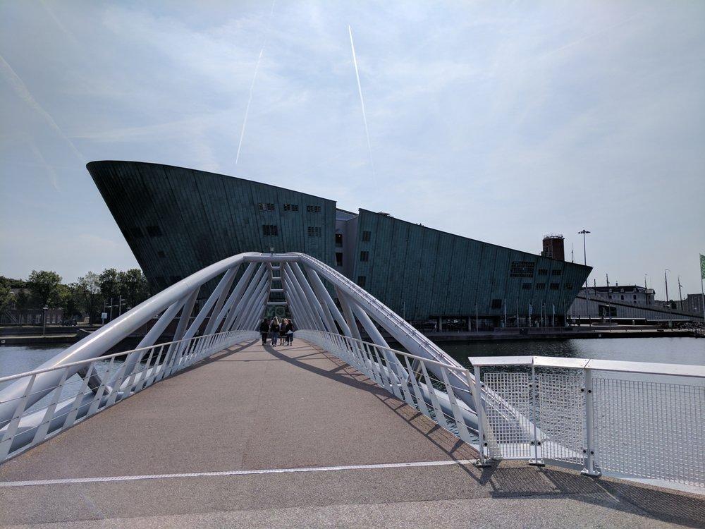 NEMO Science Museum: Oosterdok 2, Amsterdam, NH