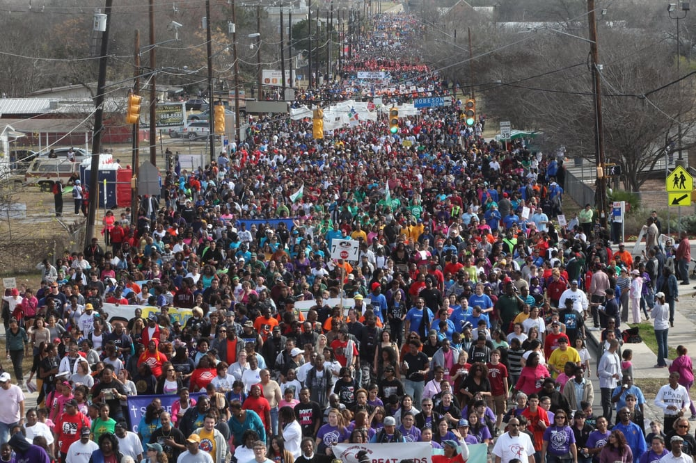 Mlk March Local Flavor 1801 Martin Luther King Dr