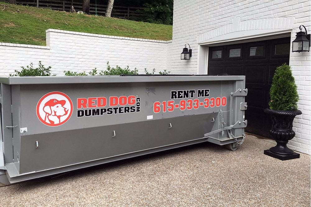 Red Dog Dumpsters: 710 Berry Rd, Nashville, TN