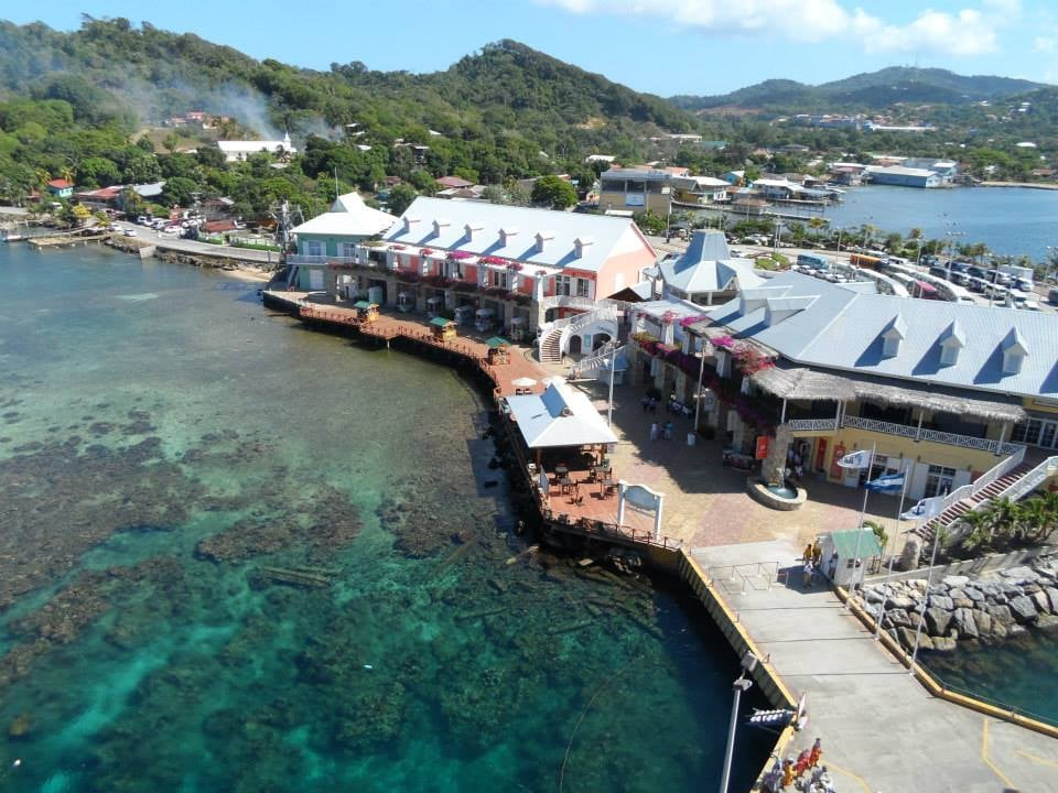 View of roatan from the ship yelp - Allure of the seas fort lauderdale port address ...