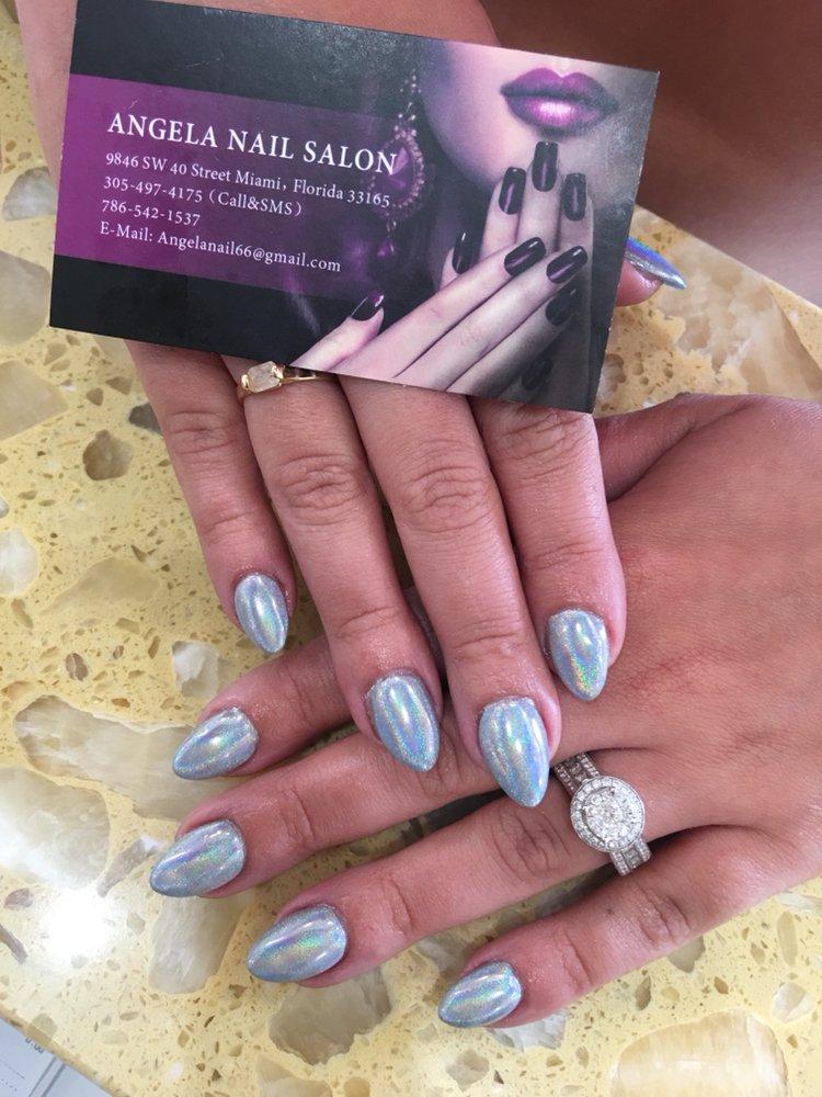 Angela Nail Salon: 9846 Sw 40th St, Miami, FL