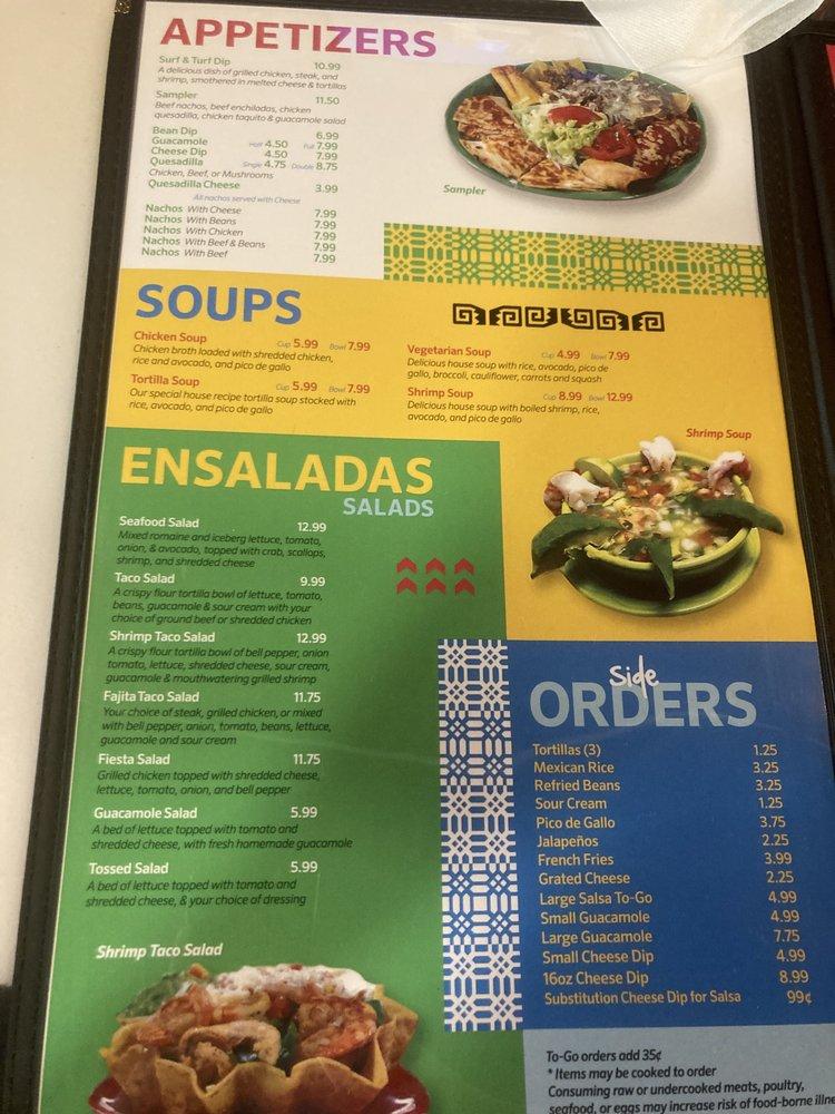 Food from Casa Maya STL