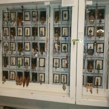 Photo Of Austin Antique Mall   Austin, TX, United States. Display Of  Earrings