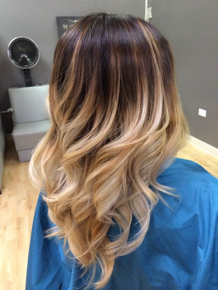 High contrast balayage ombr stylist chanyle nakamura yelp - Technique ombre hair ...