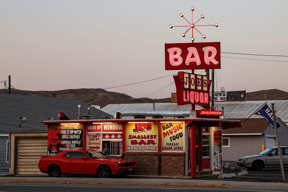 Joe's Liquor & Bar: 516 Elk St, Rock Springs, WY