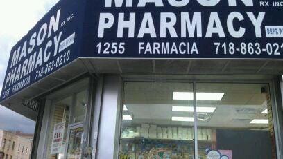 Mason Drug: 1255 Castle Hill Ave, Bronx, NY
