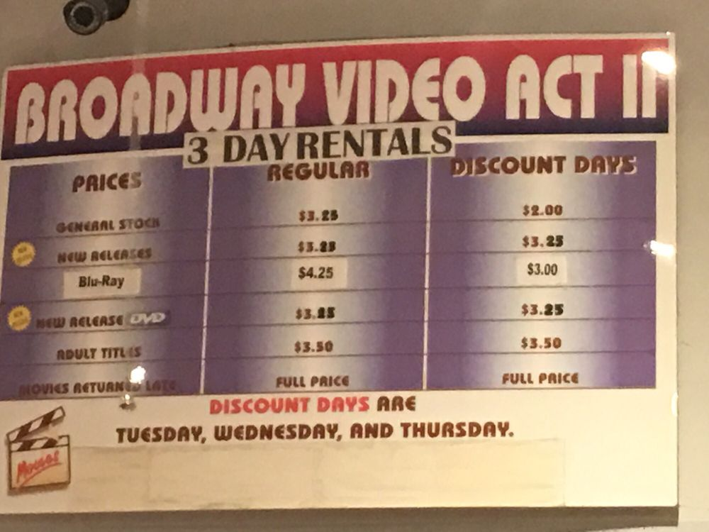 Discount adult video