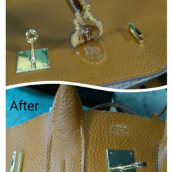 Photo Of Wander Luge Repair Vancouver Bc Canada The Leather Handle Was