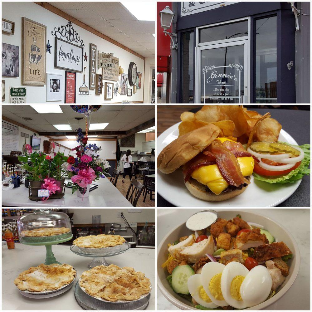 Ginnie's Restaurant and Coffee Bar: 301 N Main St, Brookfield, MO