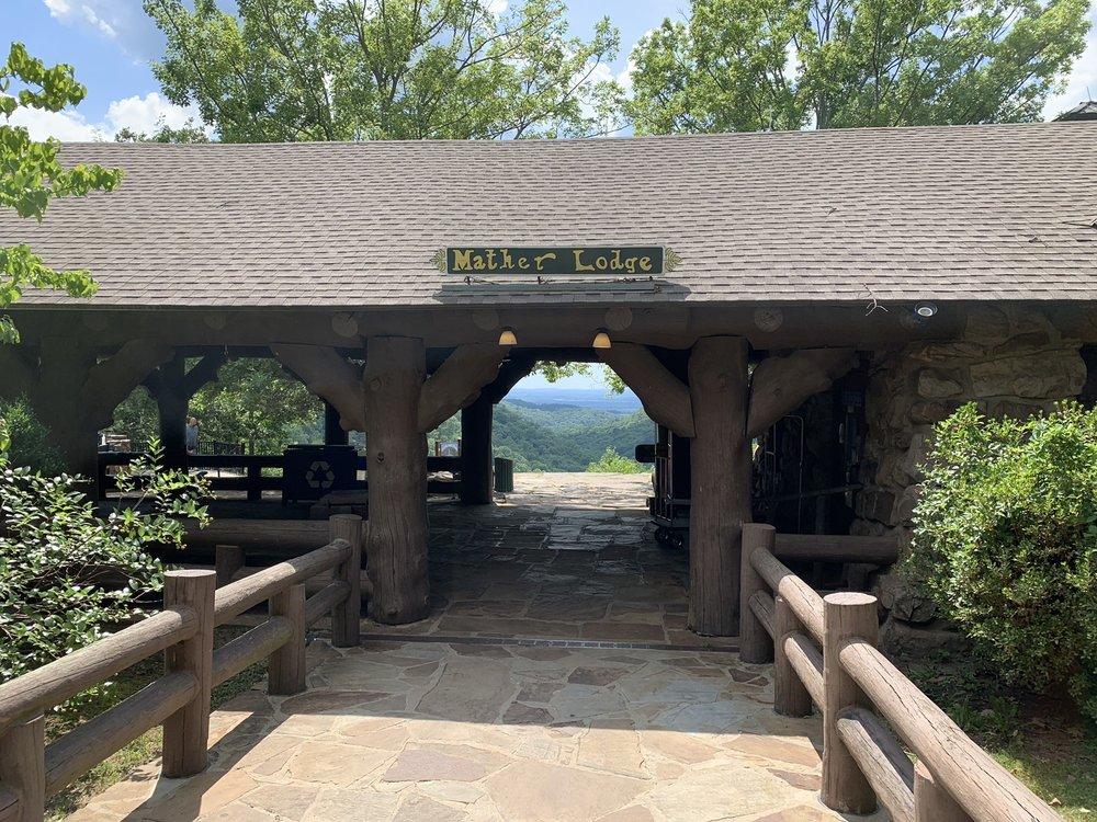 Mather Lodge: 1069 Petit Jean Mountain Rd, Morrilton, AR
