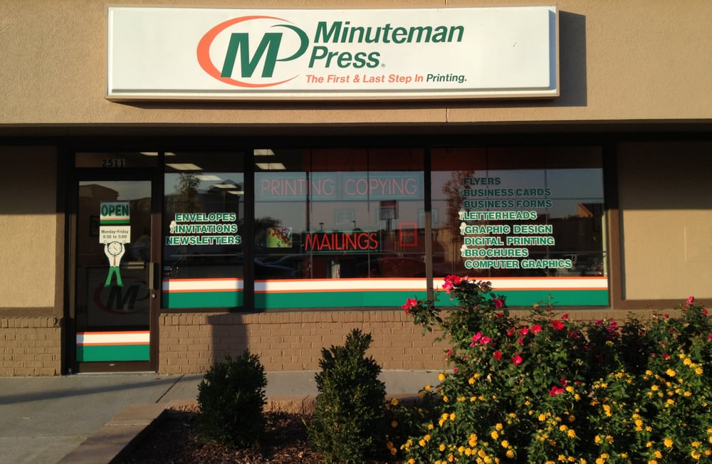 Minuteman Press: 2511 Bernadette Dr, Columbia, MO