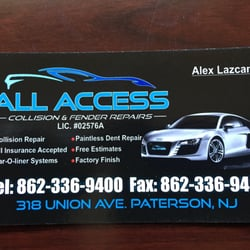All access auto body 10 photos body shops 318 union ave photo of all access auto body paterson nj united states this is colourmoves
