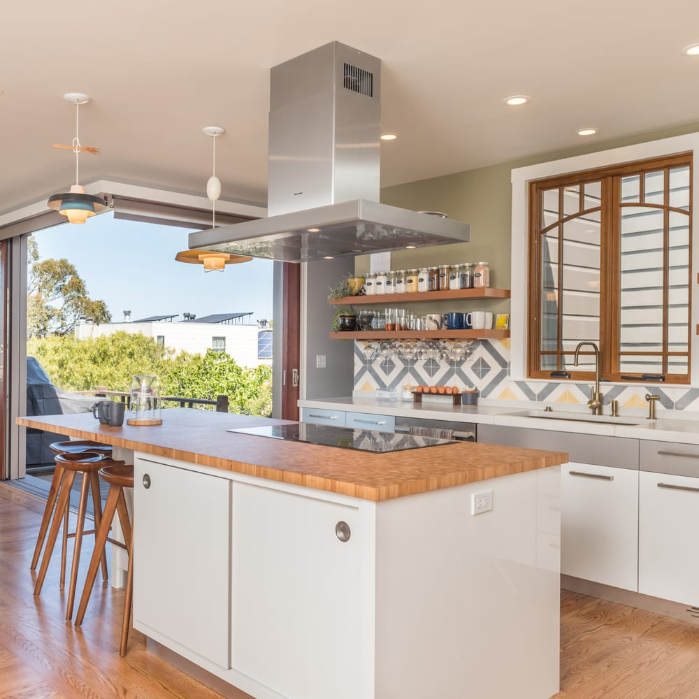 Designed With An Open Kitchen Plan To Increase The