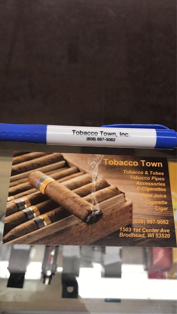 Tobacco Town: 1501 Wisconsin Trunk Hwy 11, Brodhead, WI