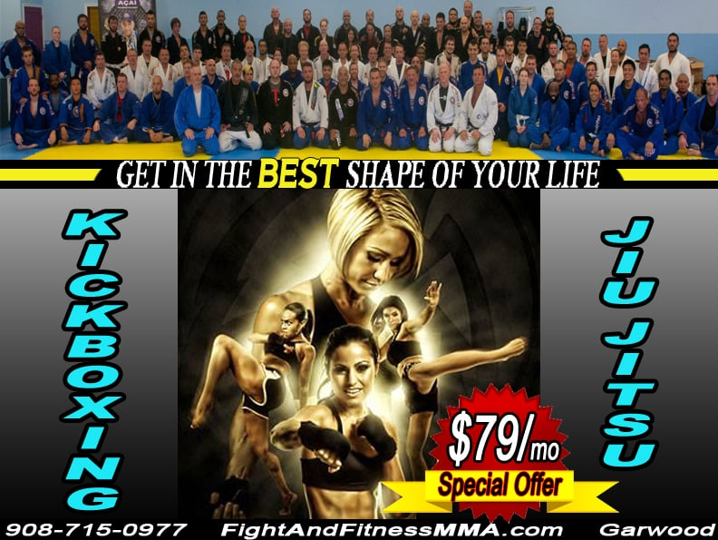 Fight and Fitness MMA: 300 South Ave, Garwood, NJ