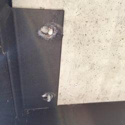 Photo Of Macon Concrete Products San Antonio Tx United States Misconfigured Bolt