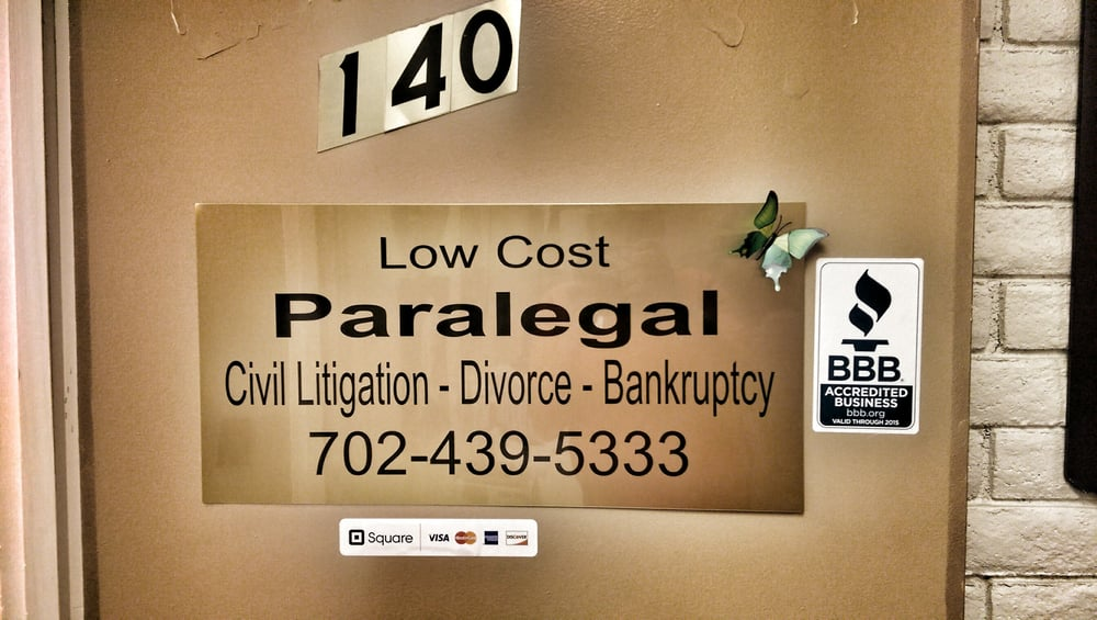 Low Cost Paralegal Services - 30 Reviews - Bankruptcy Law - 720 E ...