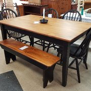 Shaker Office System Photo Of Sam S Wood Furniture Burlington Vt United States Wormy Maple Table