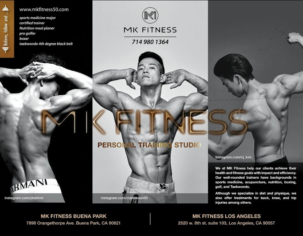 MK Fitness: 7898 Orangethorpe Ave, Buena Park, CA