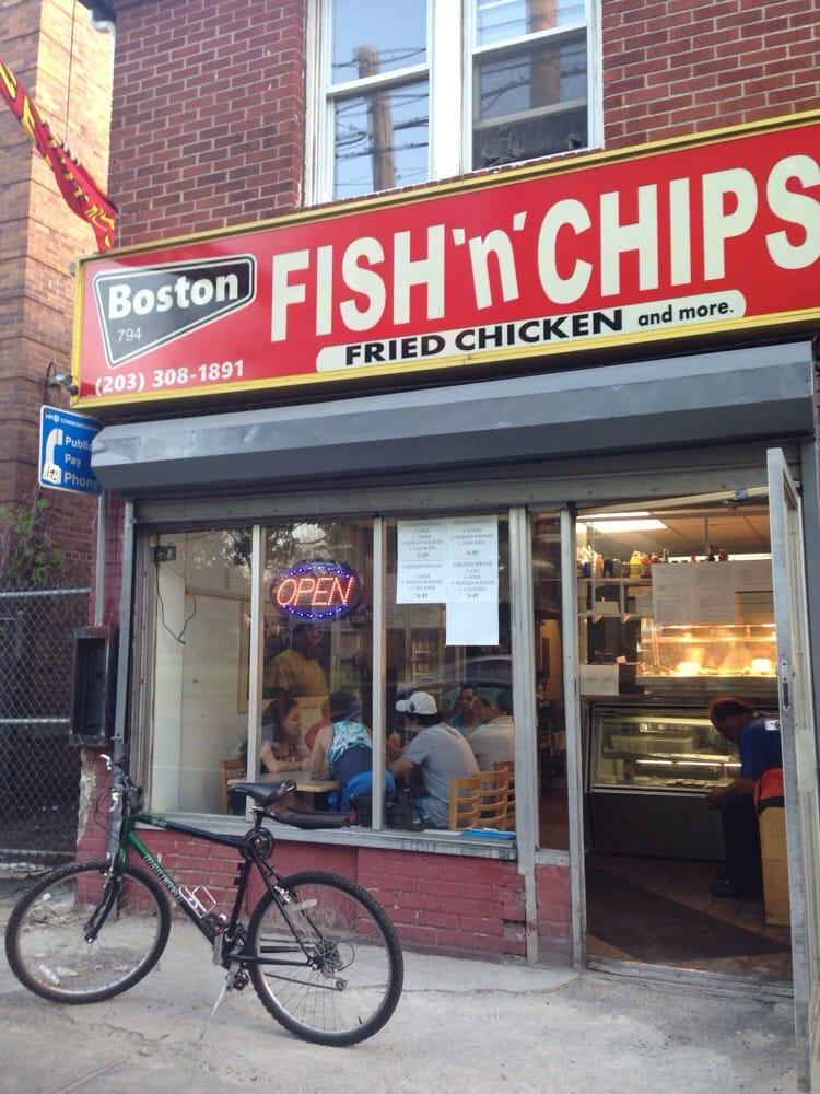 Boston Fish & Chips - Seafood Restaurants - 794 Boston Ave, Bridgeport, CT, United States ...