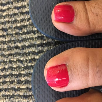 Photo Of Posh Nails Myrtle Beach Sc United States Toe Paint