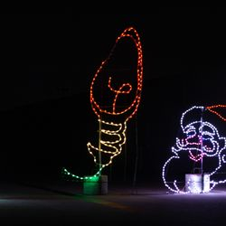 Photo of Lights at the Brickyard - Indianapolis, IN, United States. Lights at