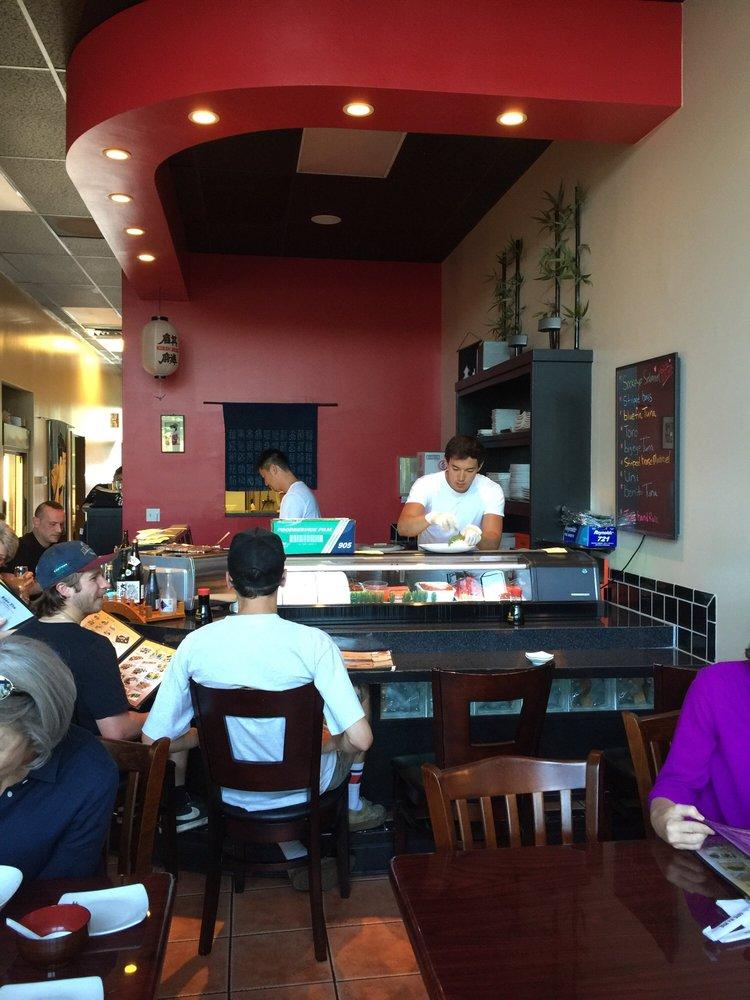 Photo of Blue Fin Sushi - Bellingham, WA, United States. Sushi counter
