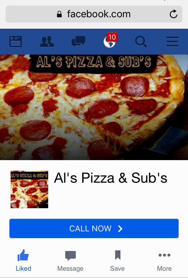 Al's Pizza & Subs: 1214 S Heaton St, Knox, IN