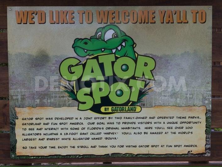 Gator Spot: 5700 Fun Spot Way, Orlando, FL
