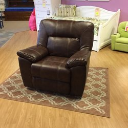 Photo Of Kids N Cribs   Brentwood, CA, United States. Leather Glider  Recliner