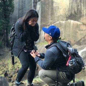 Photo of NGY Jewelry - Orange, CA, United States. She said yes!