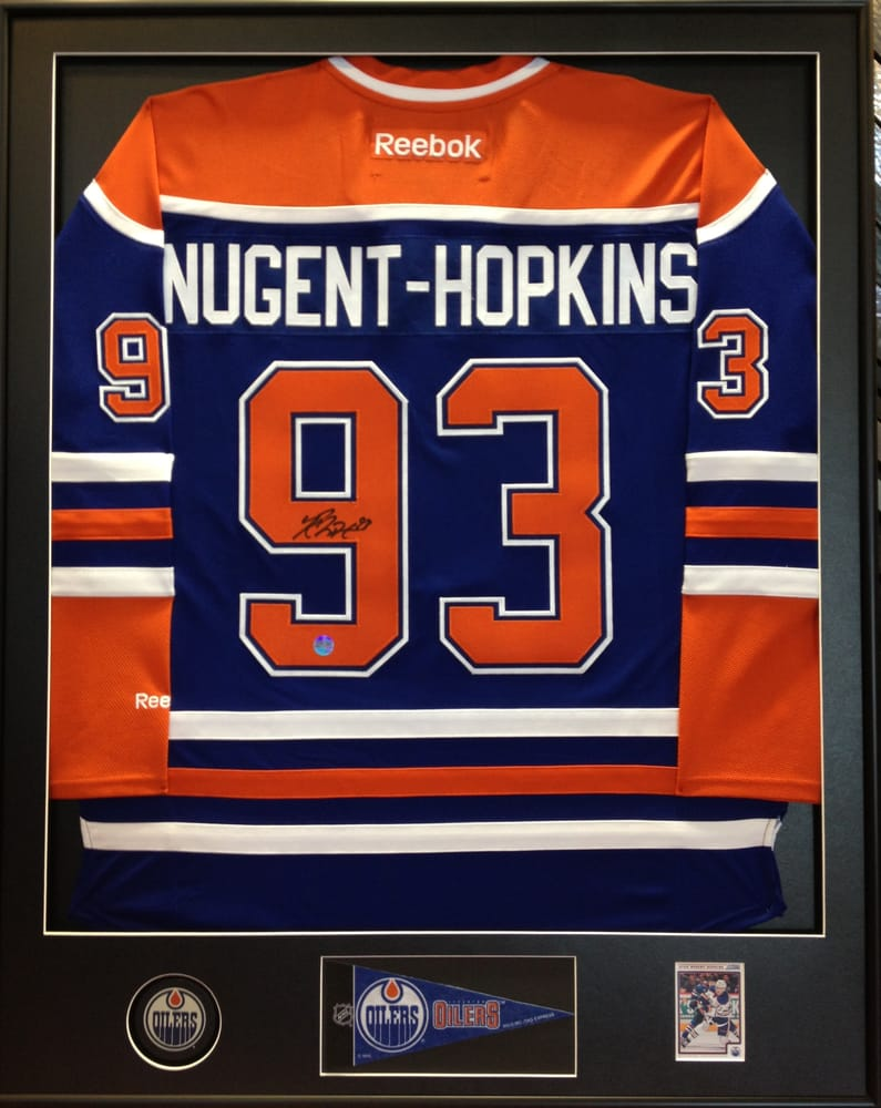 Custom jersey framing now on special from $299 - Yelp
