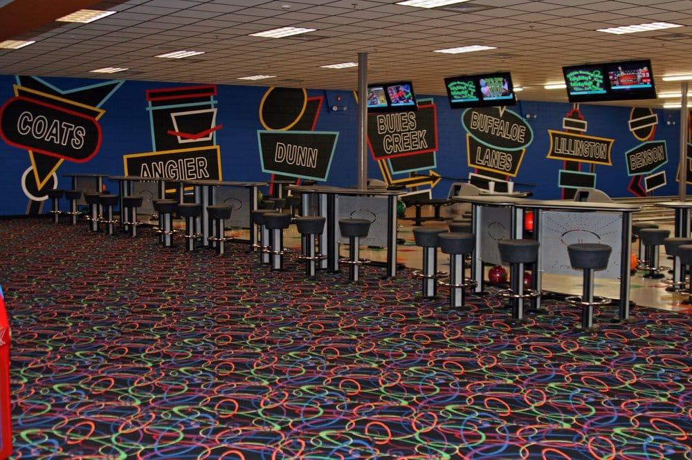 Buffaloe Lanes Erwin Bowling Center: 100 West Jackson Blvd, Erwin, NC