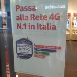 Vodafone - Via Carlo Ragghianti Ludovico 18, Novoli, Florence