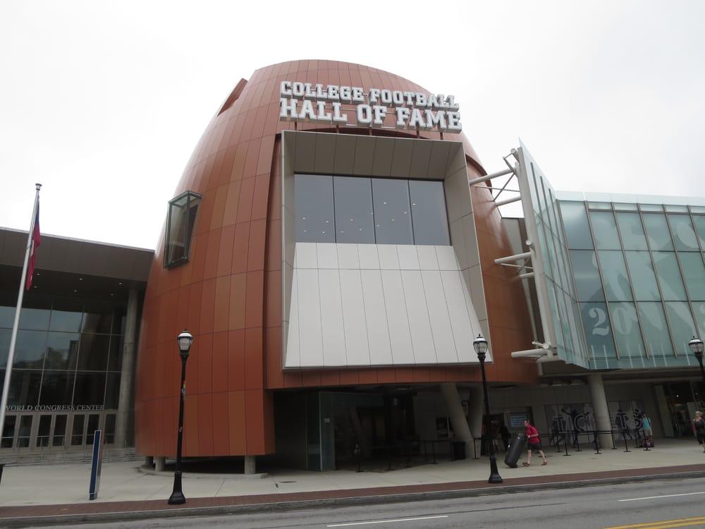 Chick-fil-A College Football Hall of Fame: 250 Marietta St NW, Atlanta, GA