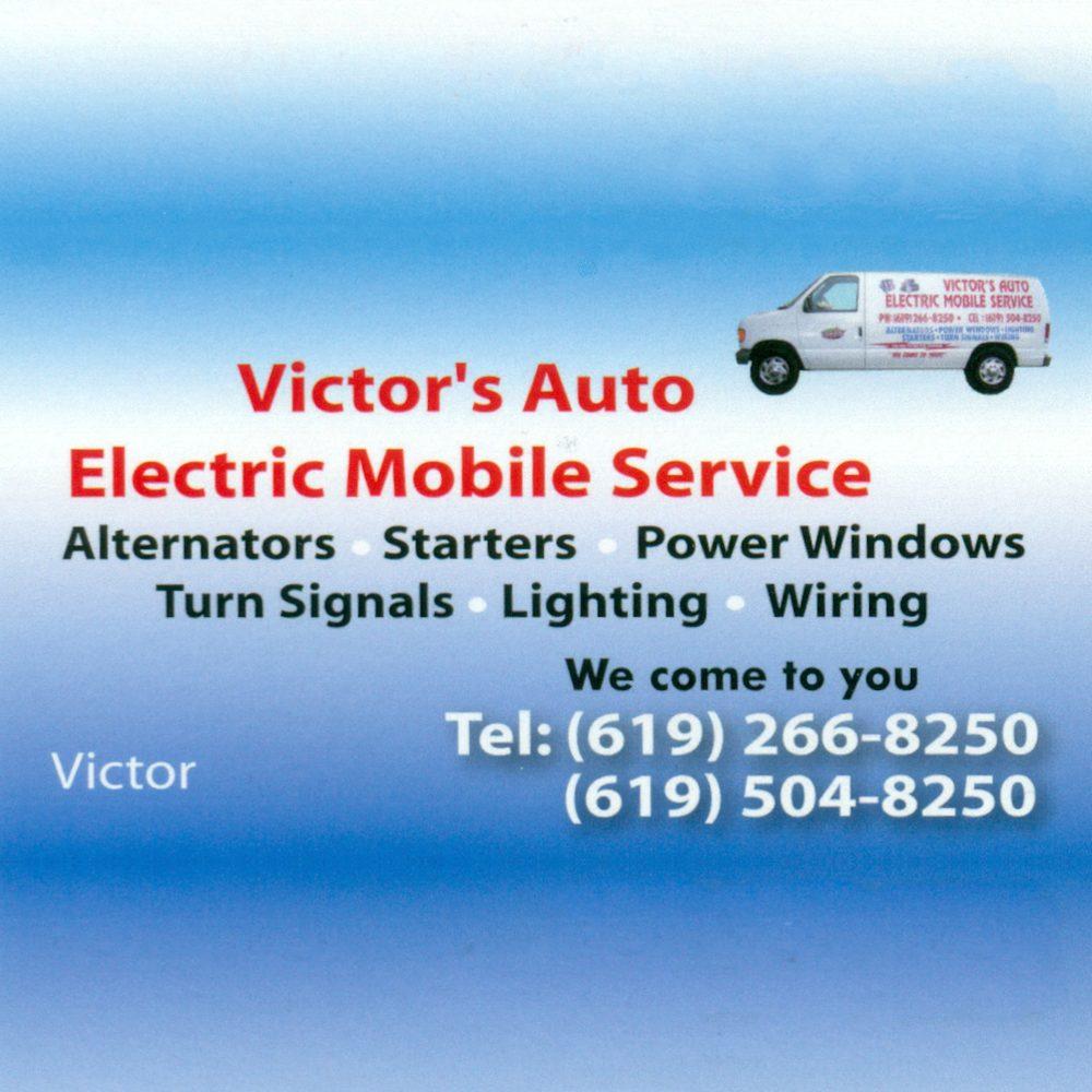 Victor's Auto Electric: San Diego, CA