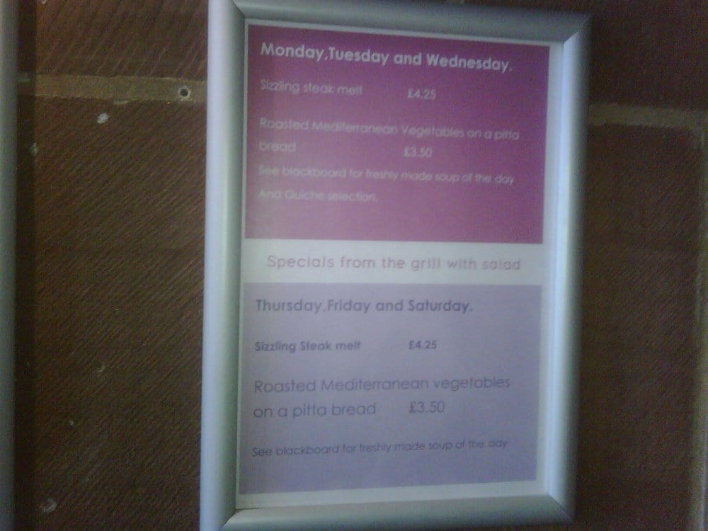 Liverpool Cathedral Refectory